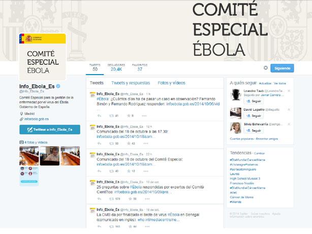 Twitter Ébola