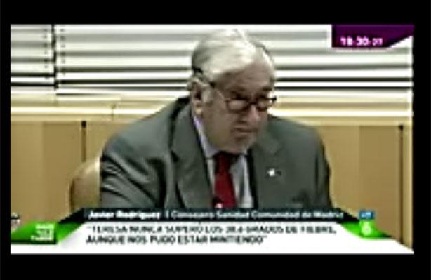 Rueda de prensa de Javier Rodríguez sobre el Ébola