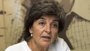 Amparo Botejara, portavoz de Sanidad de Podemos en el Congreso