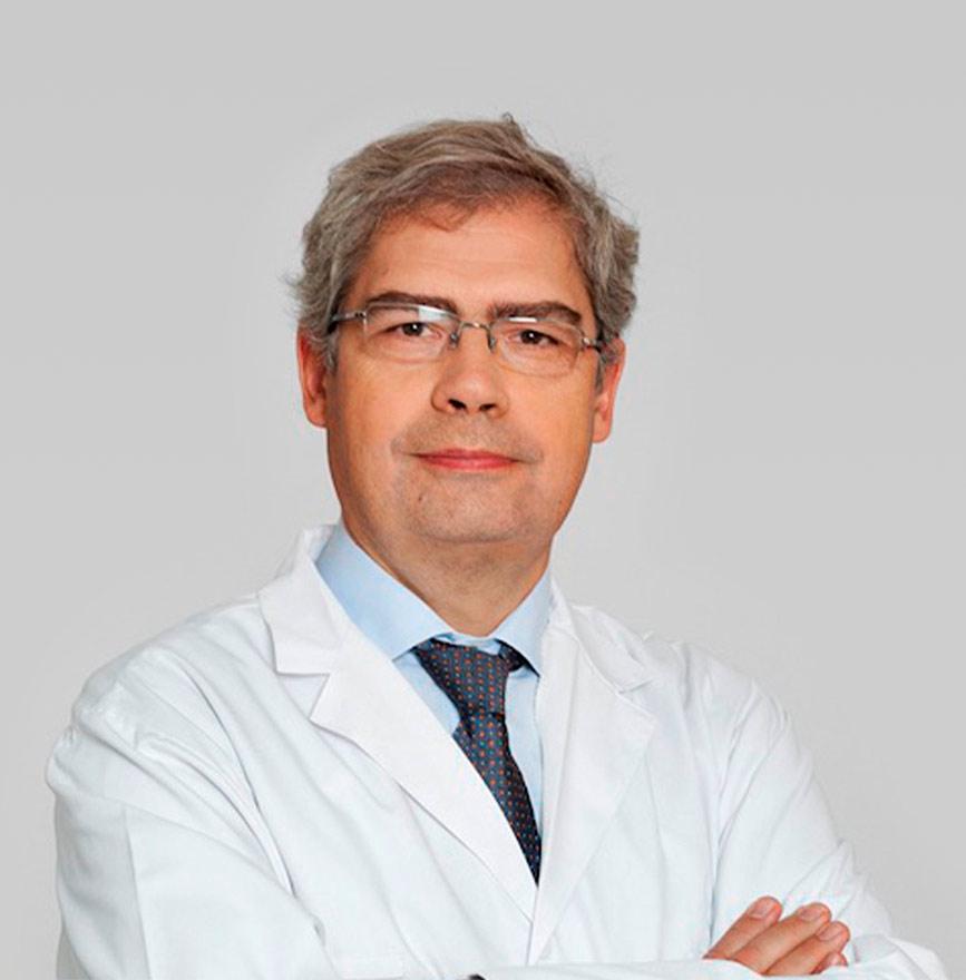Raimundo Gutiérrez Fonseca, jefe del Servicio de Otorrinolaringología del Hospital Universitario Rey Juan Carlos, y otorrinolaringólogo del Hospital Universitario Fundación Jiménez Díaz