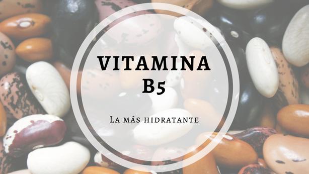 vitamina b5 funcion en la piel