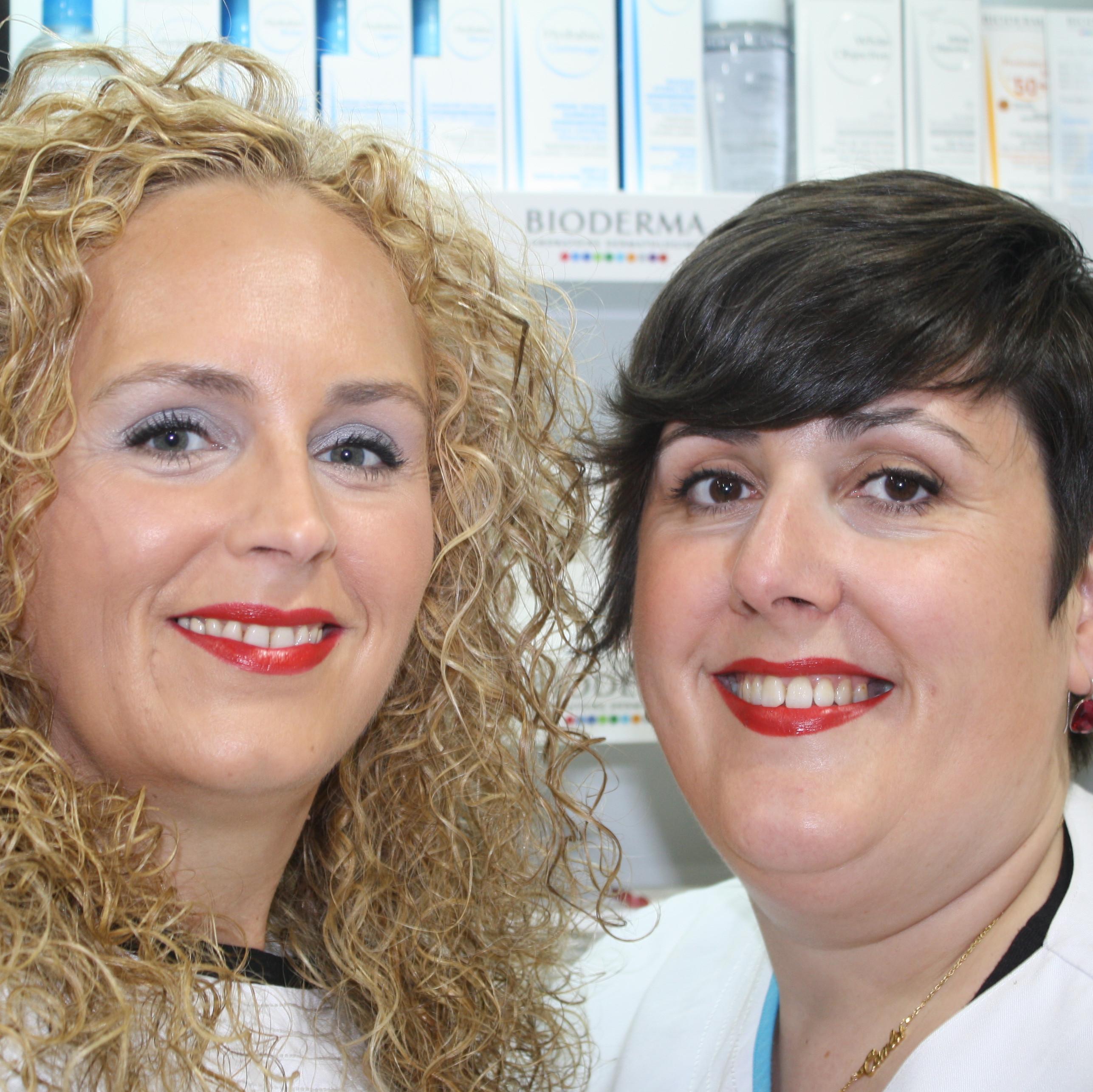 Mª José Cachafeiro y Nuria Fervienza